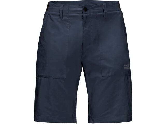 Jack Wolfskin Tanami Shorts Heren, night blue